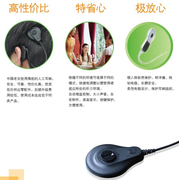 力声特耳蜗REZ-I声音处理器简介