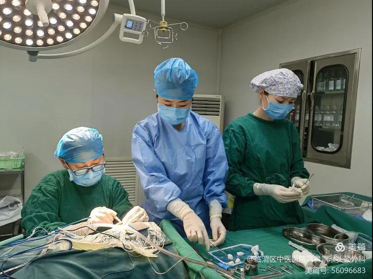 陕西省渭南市首例人工耳蜗植入术